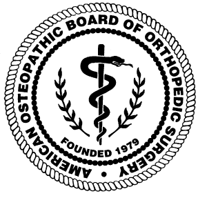 American Osteopathic Board of Orthopedic Surgery Logo